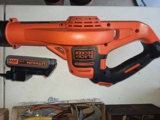 Black and Decker 20 V Power Boost Cordless leaf Blower with Battery and Charger