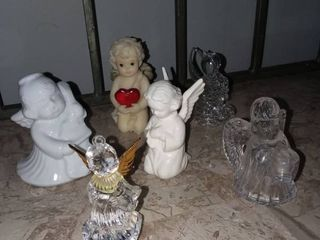 Goebel and Assorted Miniature Angel Figurines
