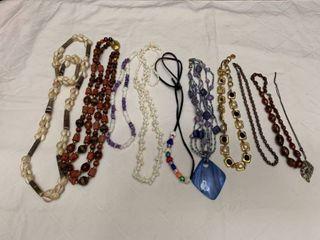 ladies jewelry  10 necklaces