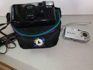 Cameras  Fuji Discovery Camera and Sony Cybershot