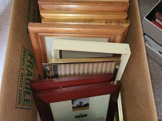 Picture Frames  Mostly 5  x 7  and smaller