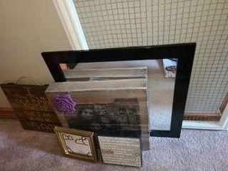 Framed Art  Framed  Chicken Wire  Mirror