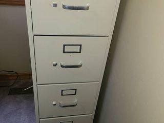 4 Drawer Filing Cabinet  49  x 15  x 25