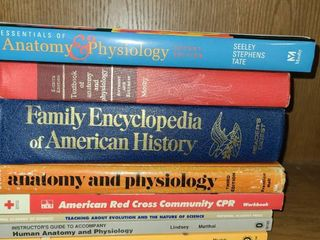 Anatomy and Physiology Books Medical