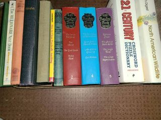 Assorted Books  Robin Crusoe  Readers Digest  Miscellaneous