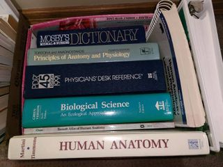 Assorted Books Medical  Human Anatomy  Biological Science