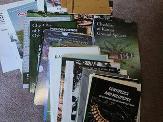 Assorted Books The Kansas School Naturalist