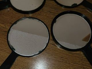 Hand Held Mirrors  4 total