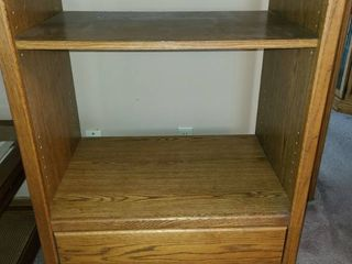 Television Stand  With a shelf and 2 drawers  44  x 30  x 21