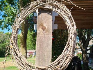 Stick Wreath 26 x 32 in