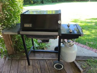 Weber Propane Grill with Cover