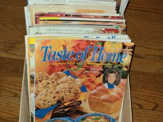 Cooking Taste of Home light and Tasty  Magazines