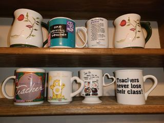Coffee Mugs  Teacher Themed