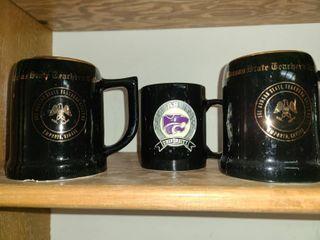 Coffee Mugs  Kansas State Theme