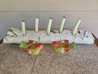 Ourdoor Table Decor Candleholder 24 in Wide
