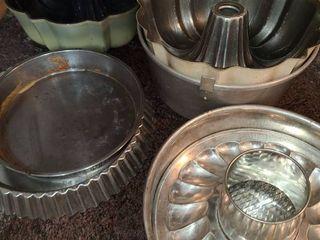 Bakeware  Various Cake Pans