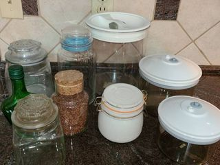 Storage Canisters and Jars