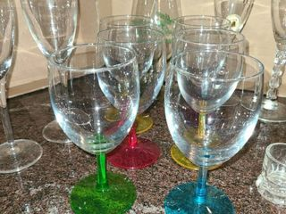 Wine Glasses and Drink Glasses