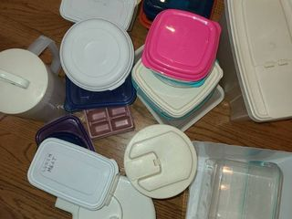 Assorted Food Storage Containers