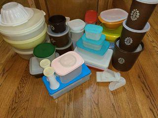 Assorted Tupperware Food Storage