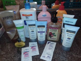 Assorted lotions