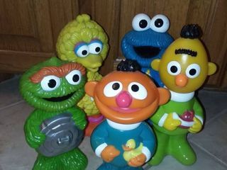 Sesame Street Soft Soap Containers