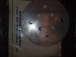 Self Acting Cleaning Plate