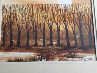 David Krenzer watercolor 21 x 24