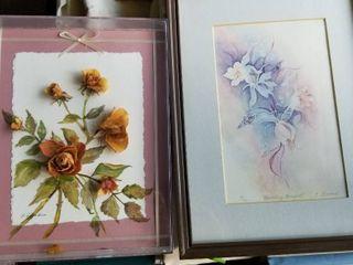 Ellen Groves watercolor  Wedding Bouquet  number 15 300 and floral watercolor