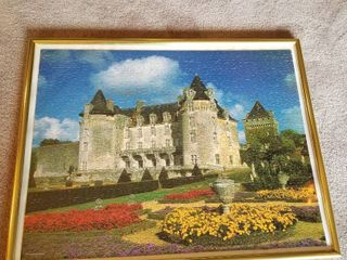 Framed castle puzzle 22 x 28