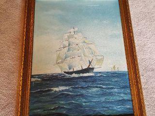 Sara Stucky oil painting 27 x 22