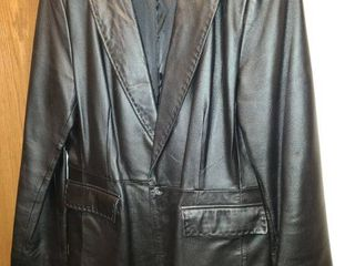 Womens Apostrophe leather Jacket Black Size 12