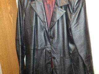 Womens Wilsons leather Jacket Black Size lG