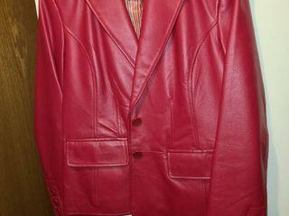 Womens Worthington leather Jacket Red Size MED