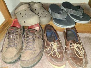 Mens Shoes Sperry 8 5 Sketchers Flip Flops Airwalk 10 Ecco
