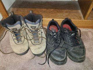 Mens Work Shoes Sketchers 10 HI Tec Boots 10