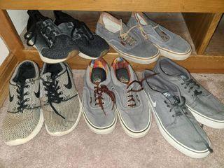 Mens Shoes Nike 8 and 9 Van s 7 5