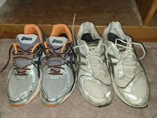 Mens Asics Tennis Shoes Size 10 and 9 5