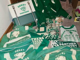 Assorted Derby Panthers Memorabilia