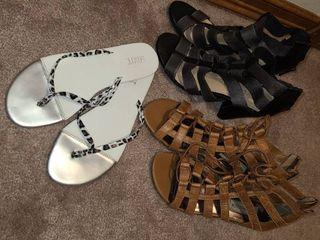 Womens Sandals Steve Madden 6 5 Versona 7 Mixit Flip Flops