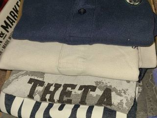 T shirts and Polo Shirts Sizes MED and lG
