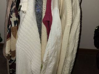 ladies Sweaters and Ponchos  Sizes Small to Medium