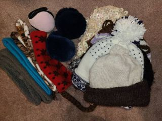 ladies Winter Ear Muffs and Hats