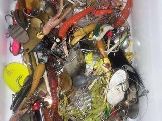 Various Fishing lures