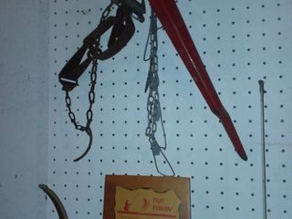 Fishing Accessories and Gone Fishin Wall Decor