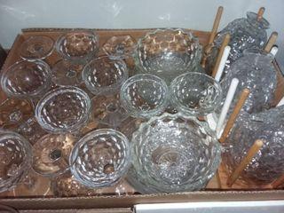 American Fostoria Assorted Pieces