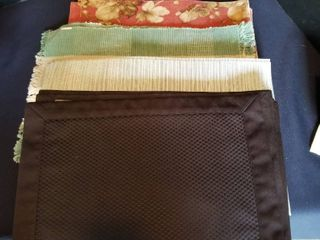 Assorted placemats