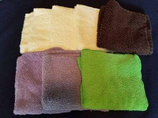 Assorted wash cloths