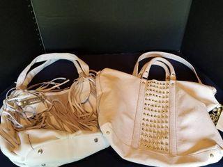 2 large purses