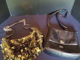 2 medium sized purses